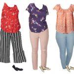 Kohls Plus Sized Mix and Match Capsule Wardrobe
