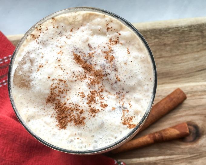 halthy horchata recipe