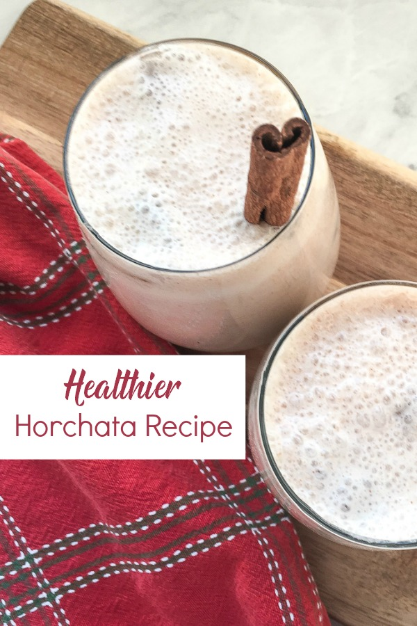 This healthy version of the classic Horchata beverage is so easy to make. This Mexican drink uses no refined sugar, and is so much healthier. Perfect for Cinco de Mayo or any other get together. .