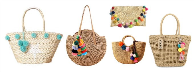 great pom pom bags for spring and summer 2019