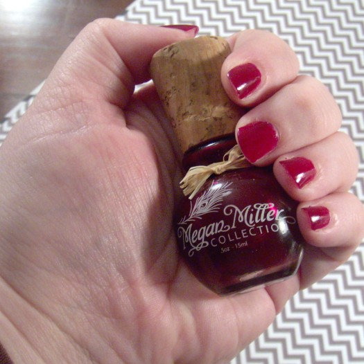Megan Miller Collection Framboise nail polish