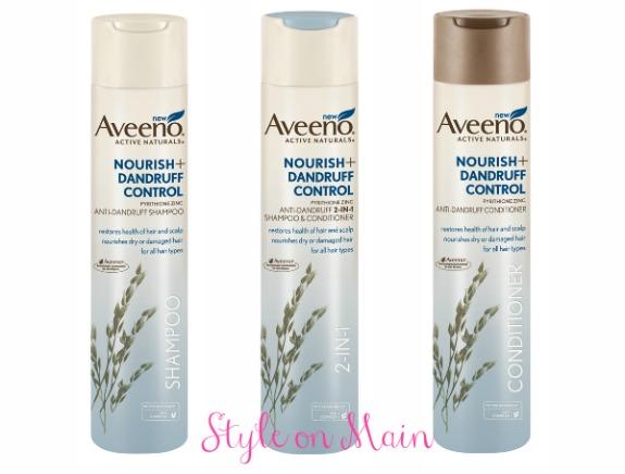 Aveeno Nourish+ Dandruff Hair Care Line
