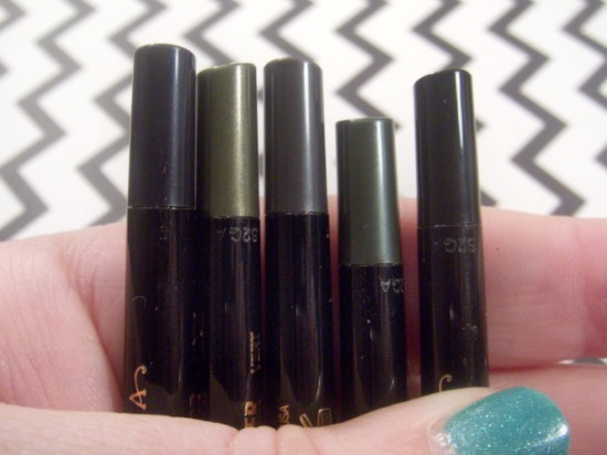 Covet Waterproof Eyeliners
