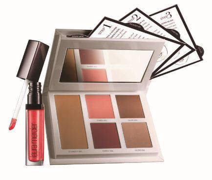 Laura mercier Bonne Mine palette and rose hope lip gloss