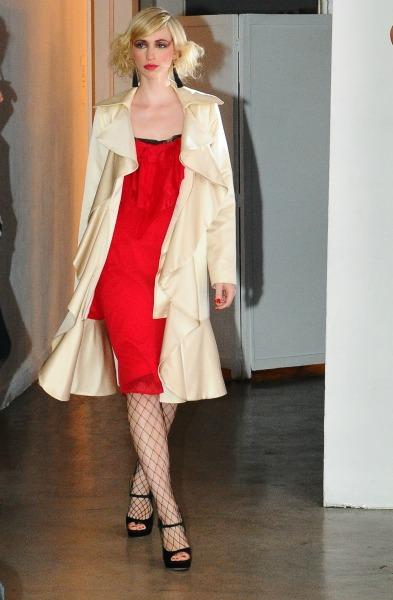 Callula Lillibelle Ruffled Dress and Coat