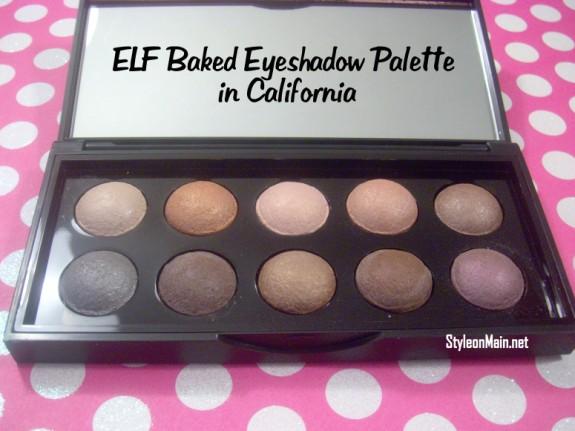 ELF Baked Eyeshadow Palette in California