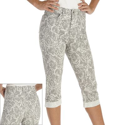 Lee Floral Marilyn capri pants