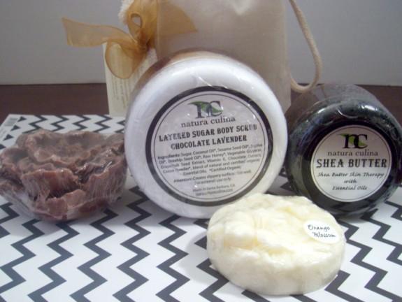 Natura Culina bath and body products