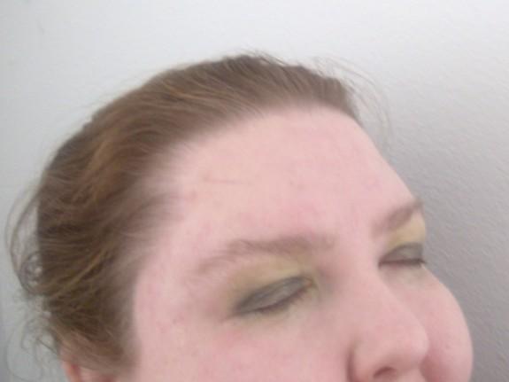 Emerald Green eyeshadow tutorial step 3