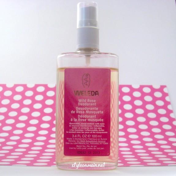 Weleda Wild Rose Natural Deodorant