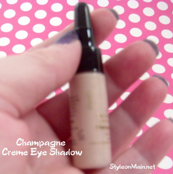 Inika Champagne Creme Eye Shadow Natural Makeup