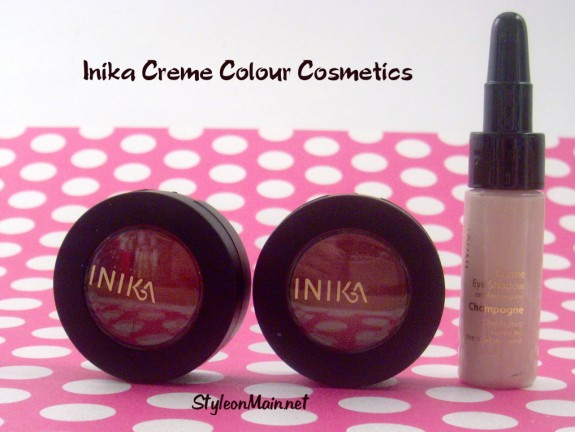 Inika Natural Cosmetics Creme Colour line