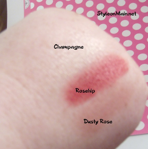 Inika Natural Cosmetics Creme Swatches