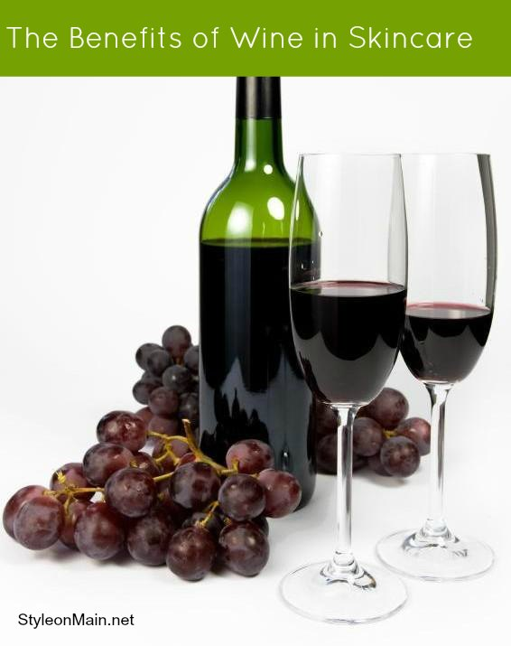 The Benefits of Wine in Skin care