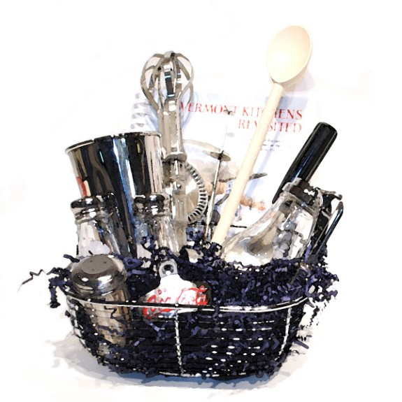 Kitchen gift basket mothers day gift idea