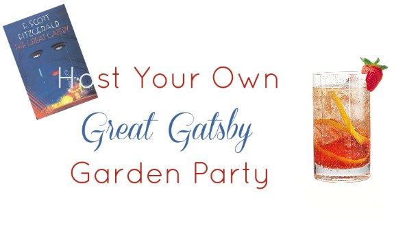 Host Your Own Great Gatsby Garden Party with these recipes and tips