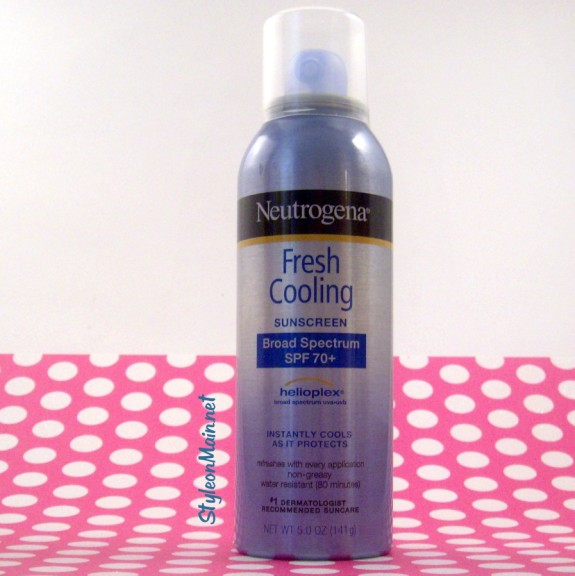 Neutrogena Fresh Cooling Mist Sunscreen
