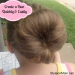 How to Make a Messy Bun Quickly and Easily