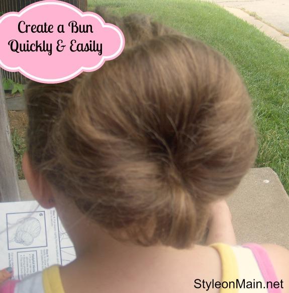 How to Make a Messy Bun
