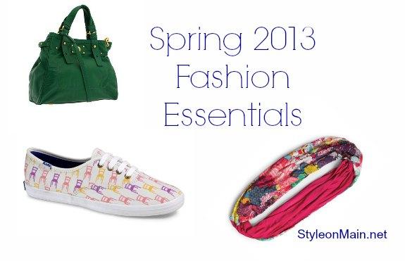 Spring 2013 Fashion Essentials