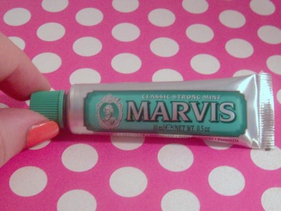 Marvis Toothpaste Sample