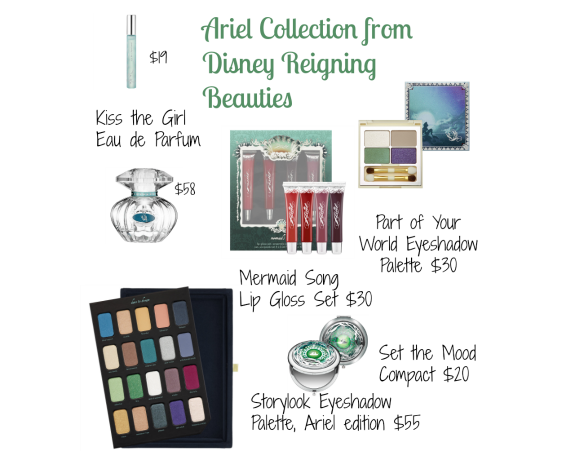 Ariel Collection cosmetics from Sephora