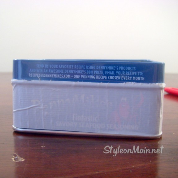 Duct Tape Box DIY Project