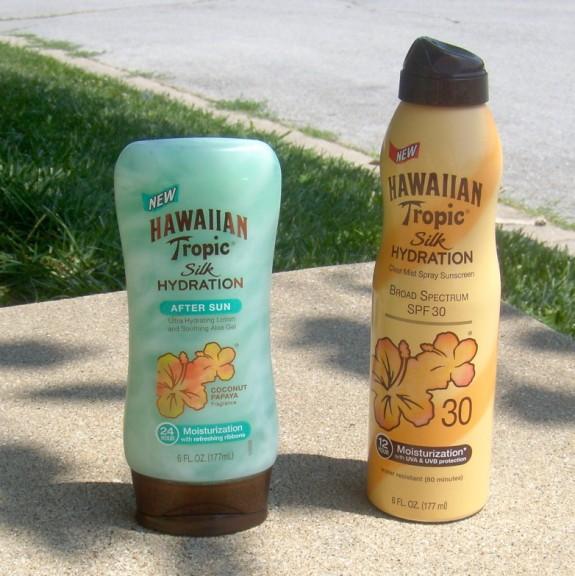 Hawaiian Tropic Silk Hydration items