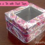 How to Upcycle a Duct Tape Box DIY Project