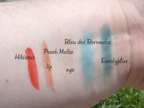 Yves Rocher Retropical Swatches