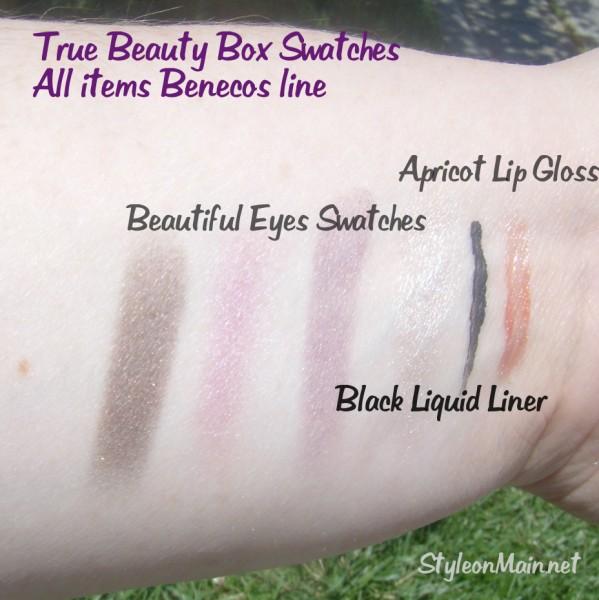 Benecos Beautiful Eyes Lip Gloss Swatches