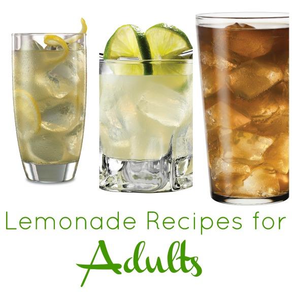 Lemonade Recipes for Adults