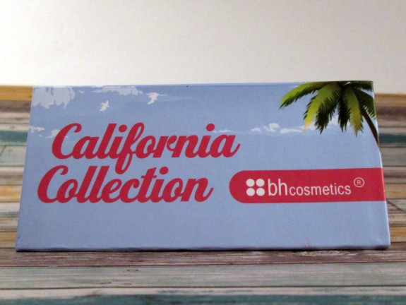 BH Cosmetics California Collection Eyeshadow Sampler