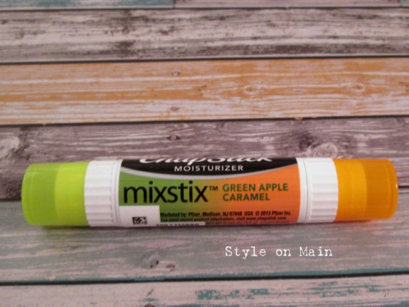 Green Apple Caramel Chapstick Mixstix