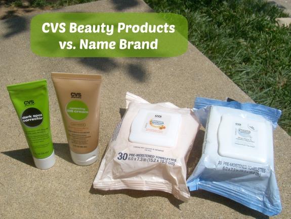 CVS Beauty Products showdown
