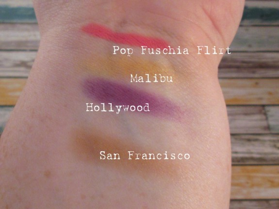 July 2013 Ipsy Bag Swatches