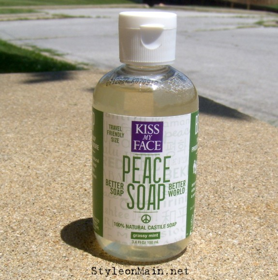 Kiss my Face Soap Grassy Mint