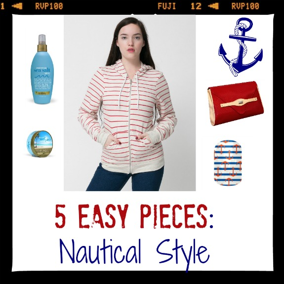 Nautical style in 5 easy pieces
