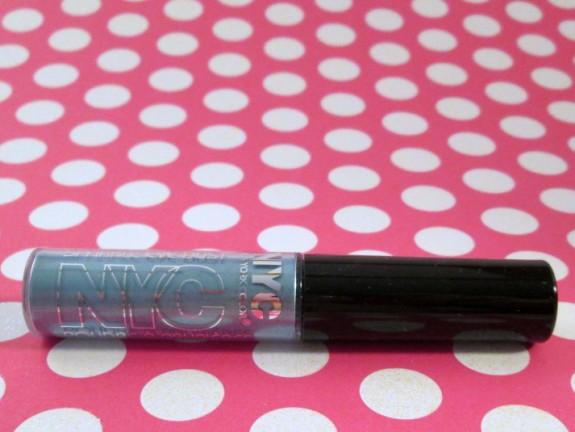 NYC Sparkle Eye Dust Aquamarine