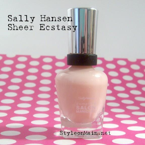 Sally Hansen Sheer Ecstasy Nail Polish