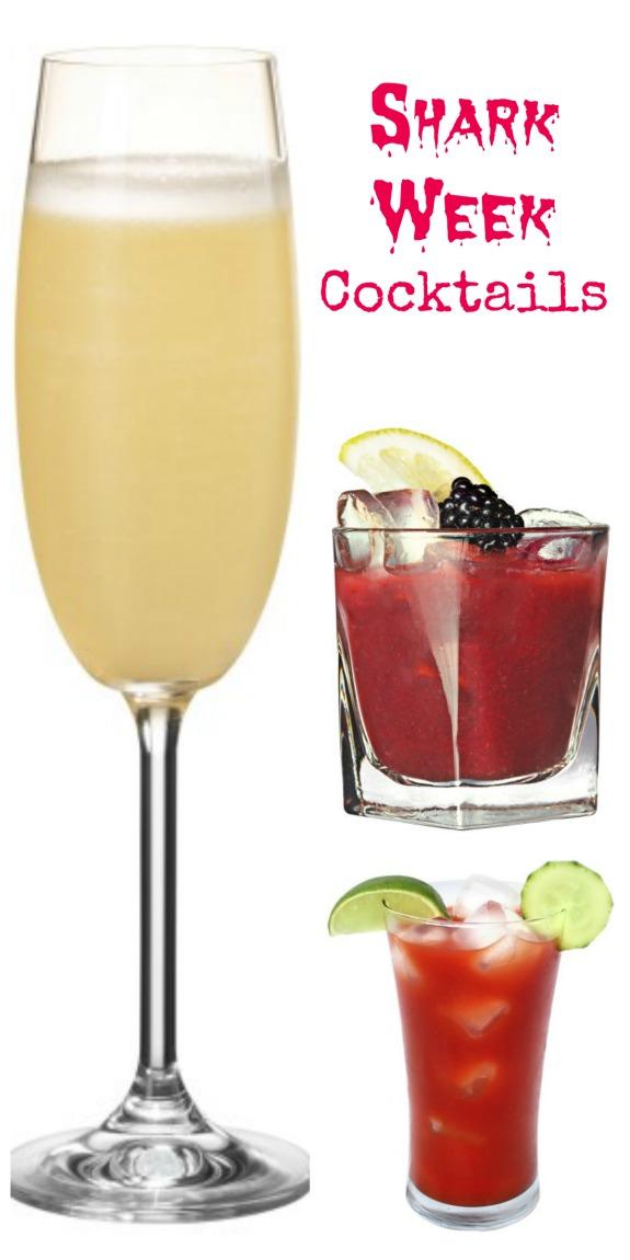 Shark Week Cocktail Recipes