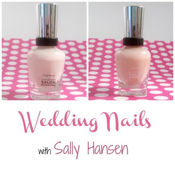 Wedding Nails with Sally Hansen