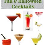Low Calorie Fall and Halloween Cocktails