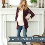 Jessica Simpson Maternity Fashions for Fall