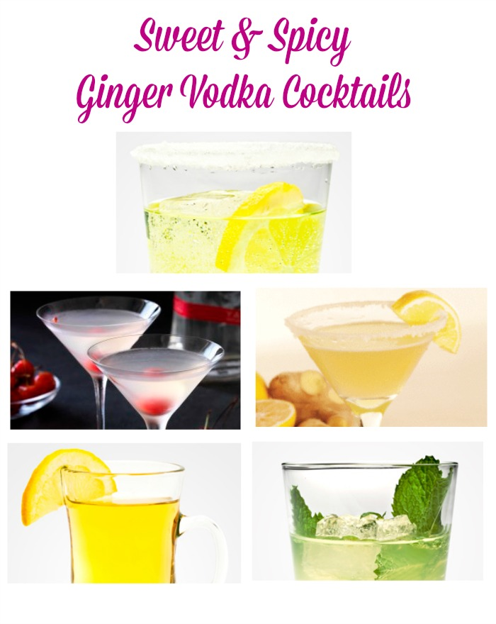 sweet-spicy-ginger-vodka-cocktails