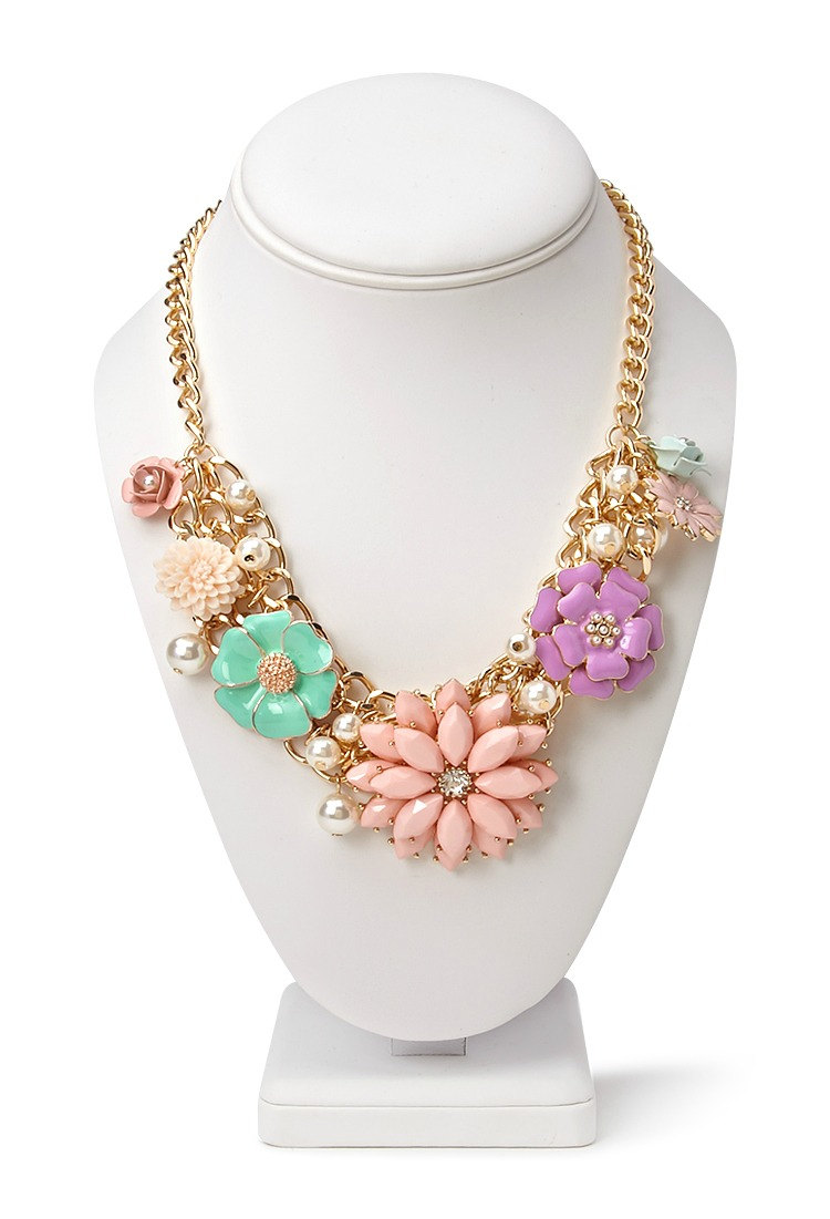 forever-21-flower-statement-necklace