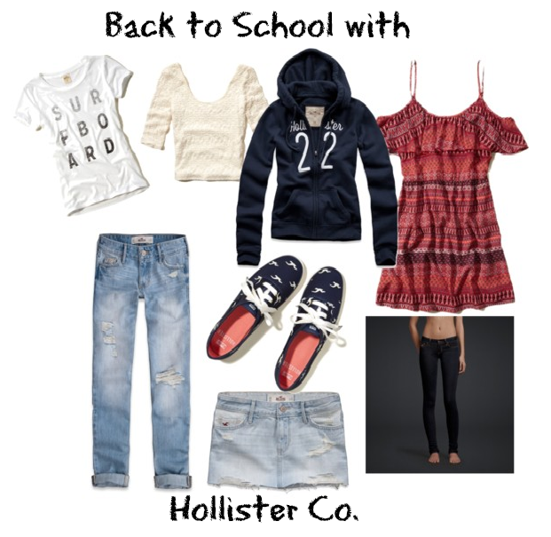 Back to School with Hollister Co.