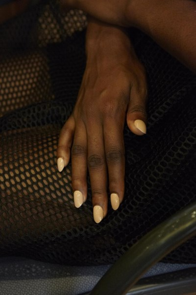 KISS and Broadway Nails for Kaelen Spring 2014 NYFW - photos by Rocky Luten3 (400 x 600)