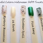 Sinful Colors Halloween Nail Polish Review