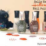 Sally Hansen Halloween Nail Polish Review
